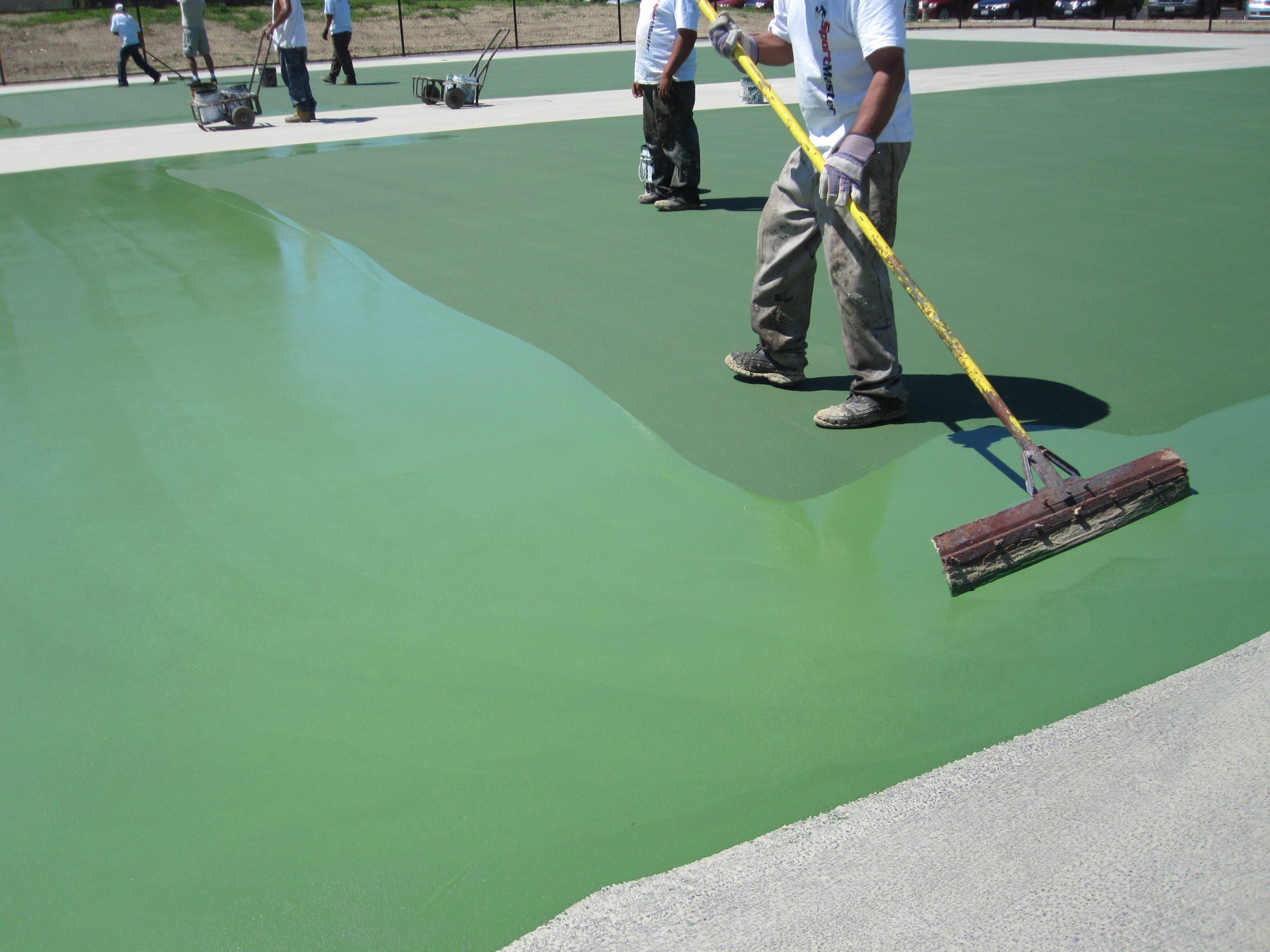 Tennis Court Repairs And Maintenance