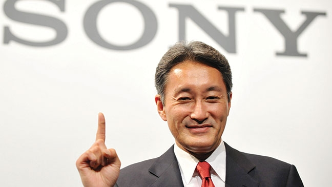 Sony CEO Target to $300 Million