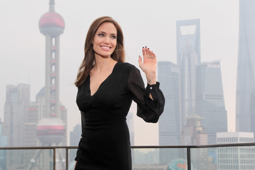 We Won't Change Our Security On Red Carpet: Angelina Jolie
