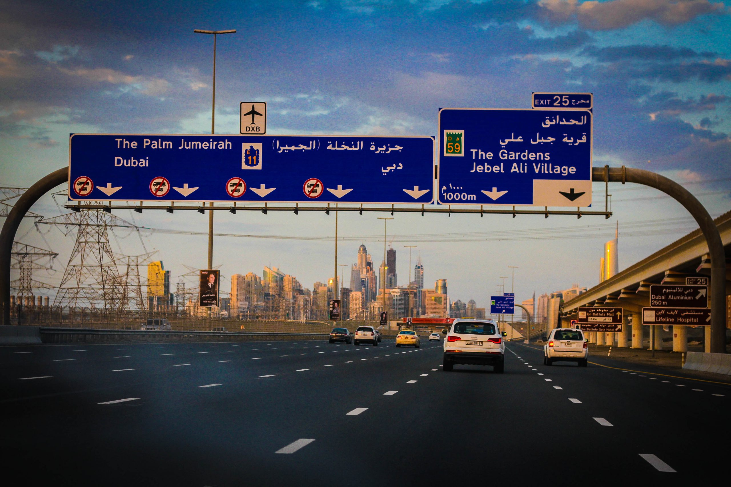 Car Rental And Directions To Dubai From Abu Dhabi Airpor