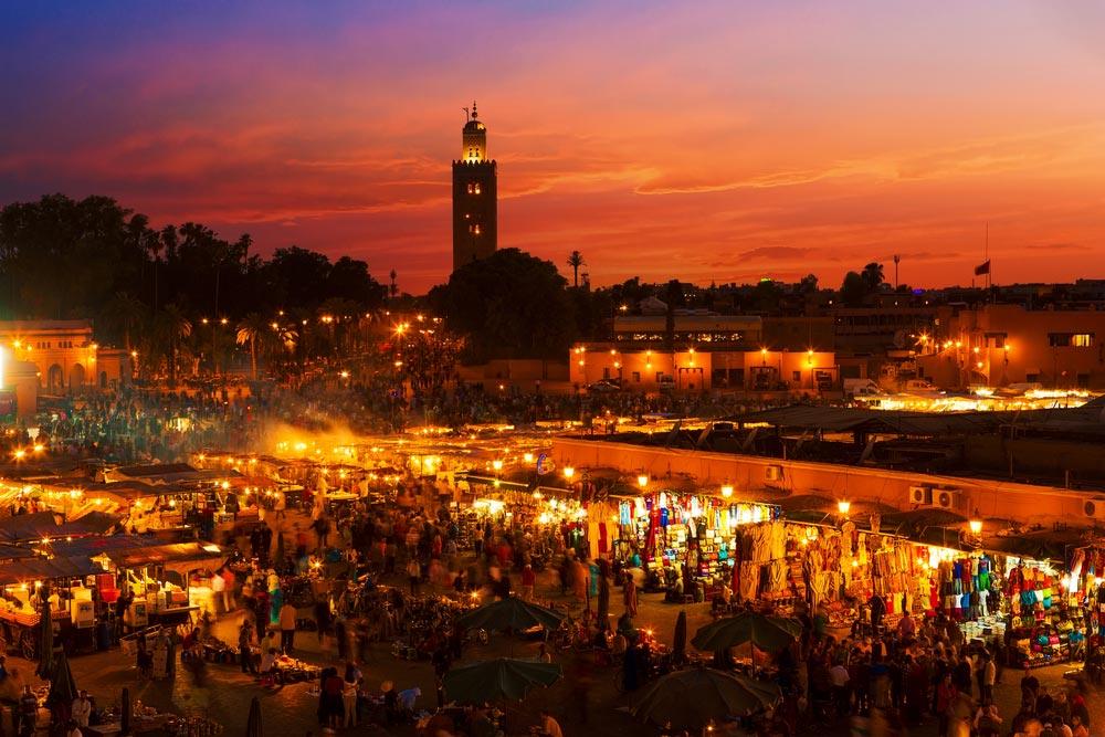 Visiting Marrakech, Morocco