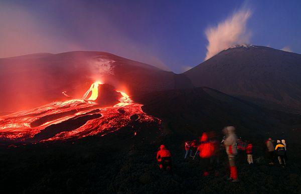 Visiting Mount Etna, Sicily