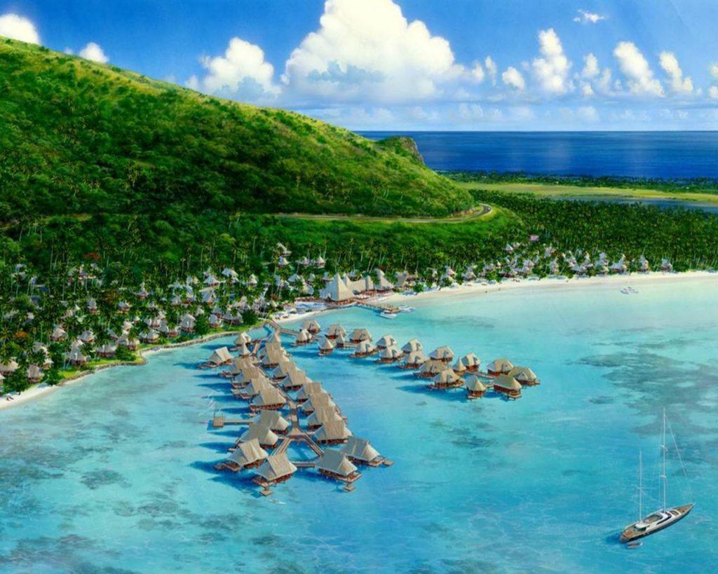 Visiting Tahiti