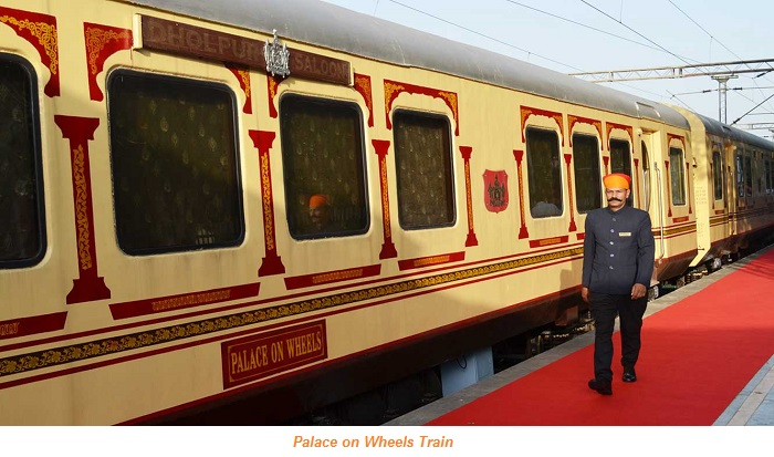 TOP 5 LUXURIOUS TRAIN TOURS IN INDIA
