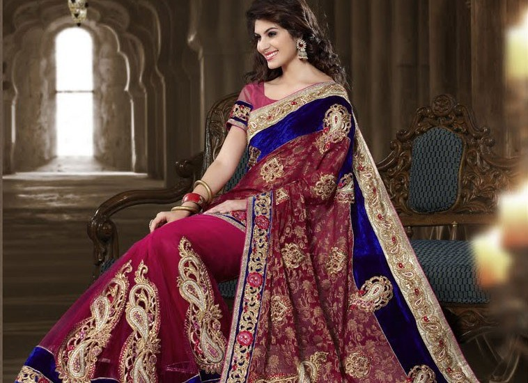 Party Trendy Sarees Latest Craze among Party Goers