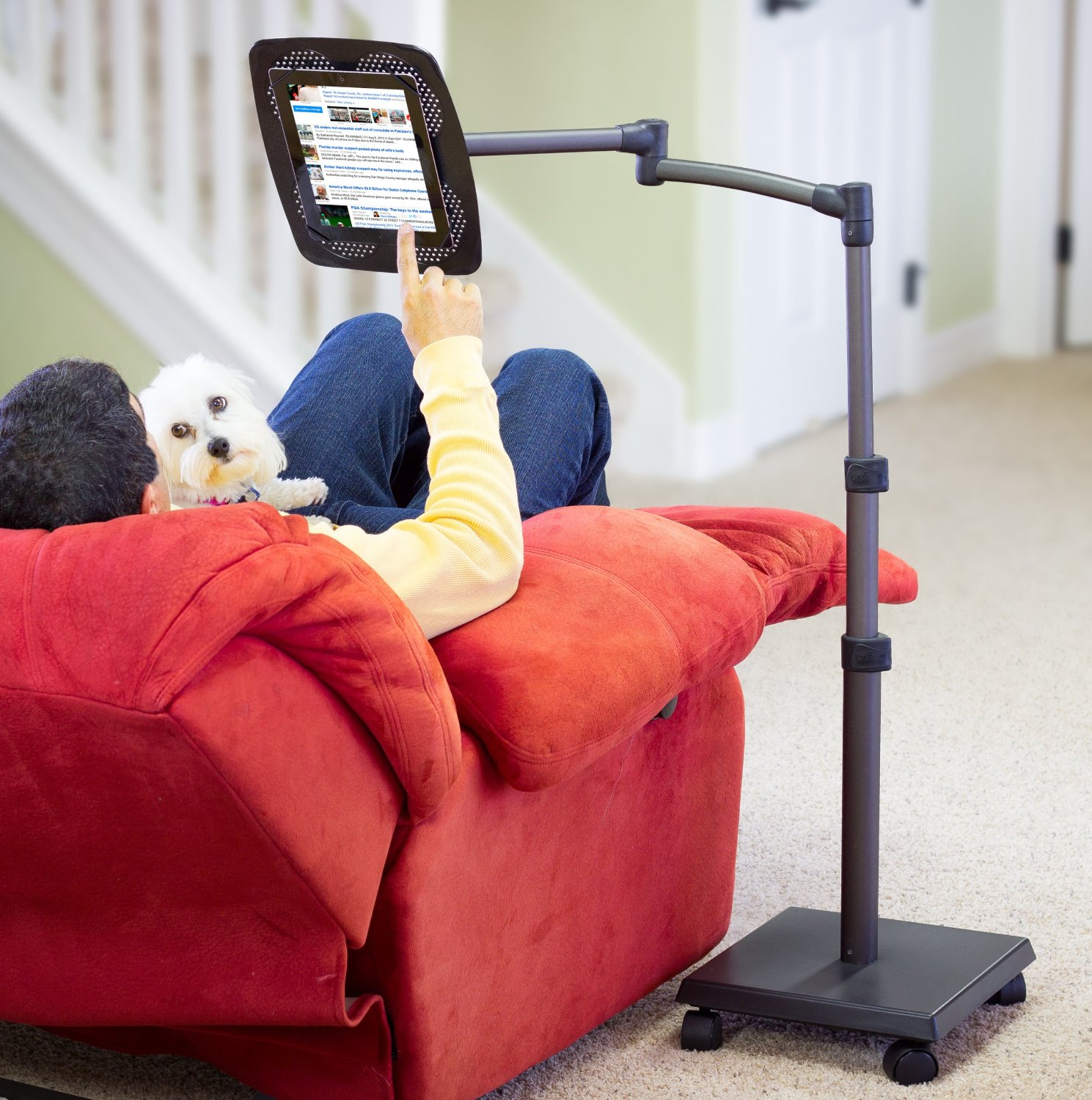 The Best Tablet Holder For Watching Movies On Bed