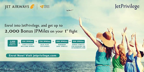 Kick Start Your Rewarding Journey With JetPrivilege