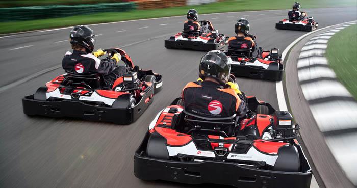 Dubai go karting