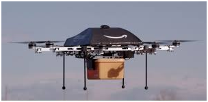 Amazon has created and is testing drones