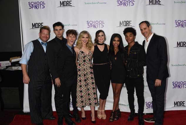 "Teen flick ""School Spirits"" enjoys a celebrity filled theatrical premiere before dominating the internet film world"