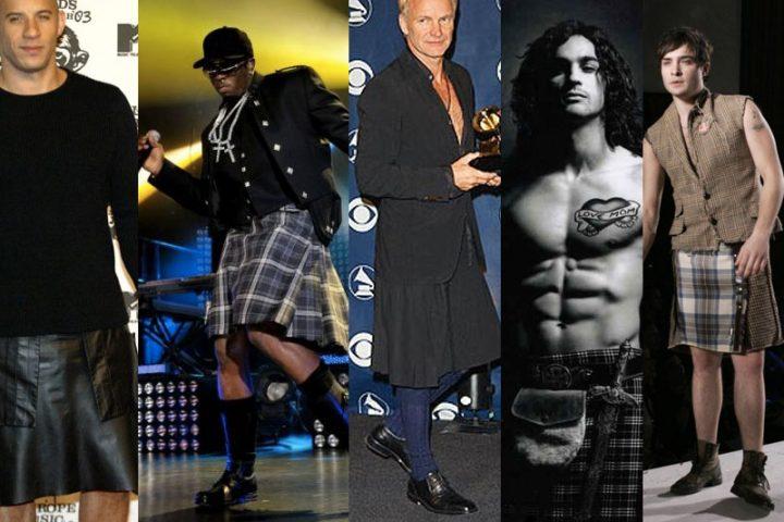 5 Celebrities that Look Amazing in Mens Kilts