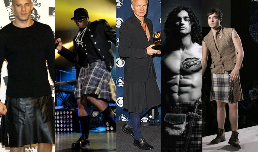 5 Celebrities that Look Amazing in Mens Kilts