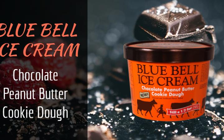 Un novo xeado introducido por masa de galletas de manteiga de cacahuete de chocolate Blue Bell